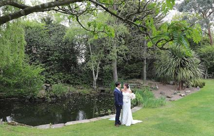 Langshott Manor weddings
