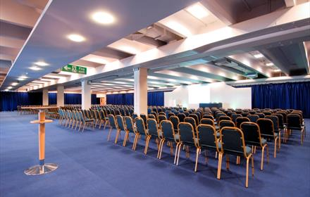 Sandown Park Racecourse, for weddings, meetings and conferences