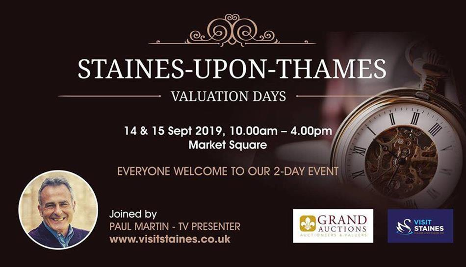 Valuation Days at Staines-Upon-Thames