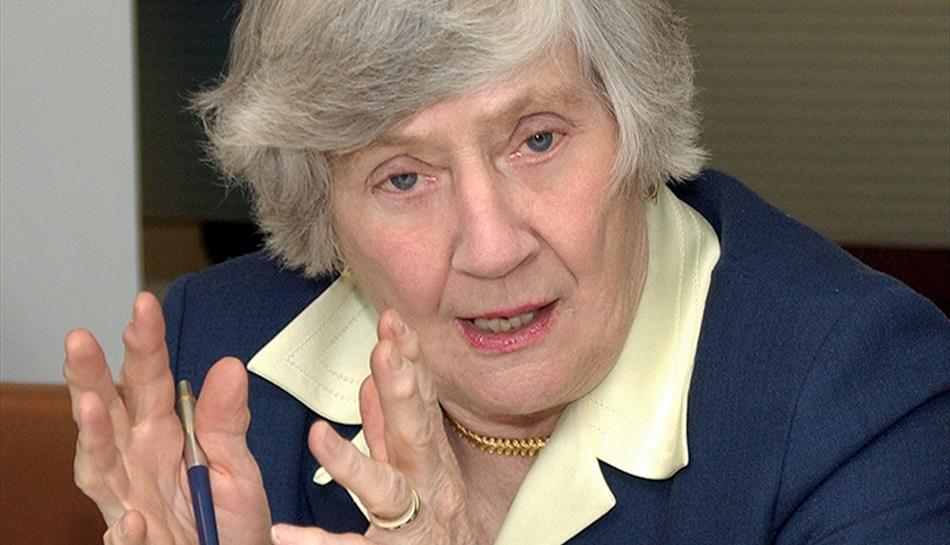An Audience with Baroness Shirley Williams  at Guildford's Yvonne Arnaud Theatre
